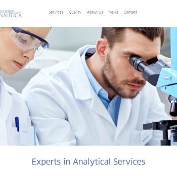 Labocor Analítica presents its new website